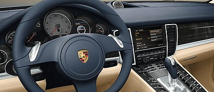 Porsche Panamera hire luxury car Rental in Europe Italy France